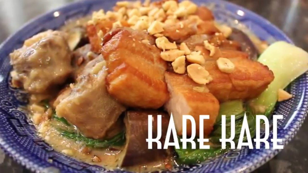 How To Cook Kare Kare  Oxtail And Peanut Stew