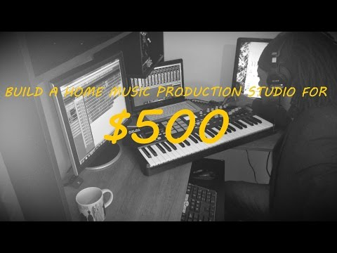 Build a music production studio for $500!
