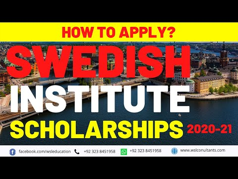 Swedish Institute Scholarship | Scholarships for International Students