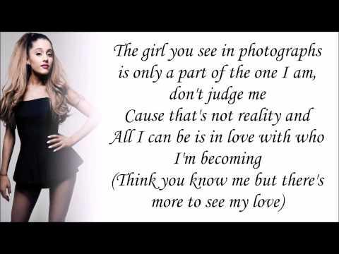 Ariana Grande Tattooed Heart Lyrics Karaoke