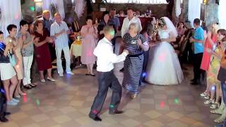 Танец зятя и тещи на свадьбе 2018 Запорожье тамада ведущая Мария