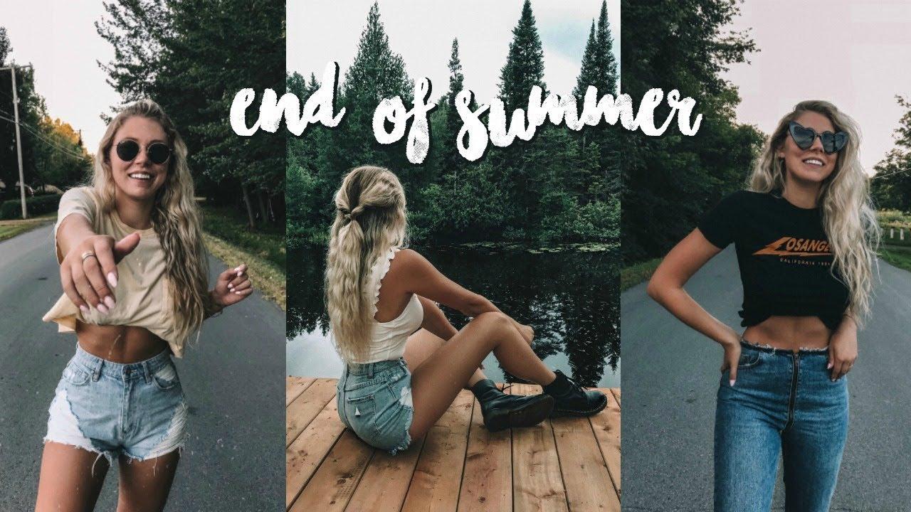 [VIDEO] – end of summer // lookbook