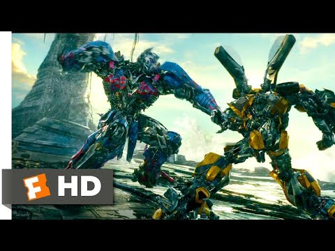 Transformers: The Last Knight (2017) - Bumblebee vs Nemesis Prime Scene (7/10) | Movieclips
