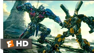 vuclip Transformers: The Last Knight (2017) - Bumblebee vs Nemesis Prime Scene (7/10) | Movieclips