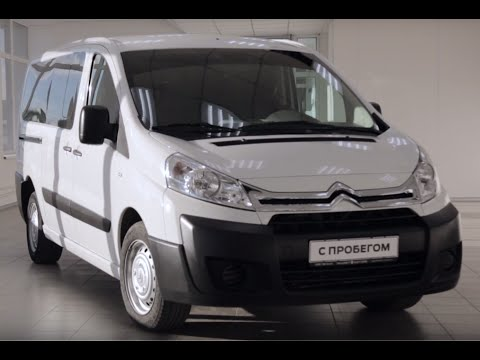 Видео обзор б у Ситроен Джампи 2014. Тест драйв Citroen Jumpy 2014 с пробегом