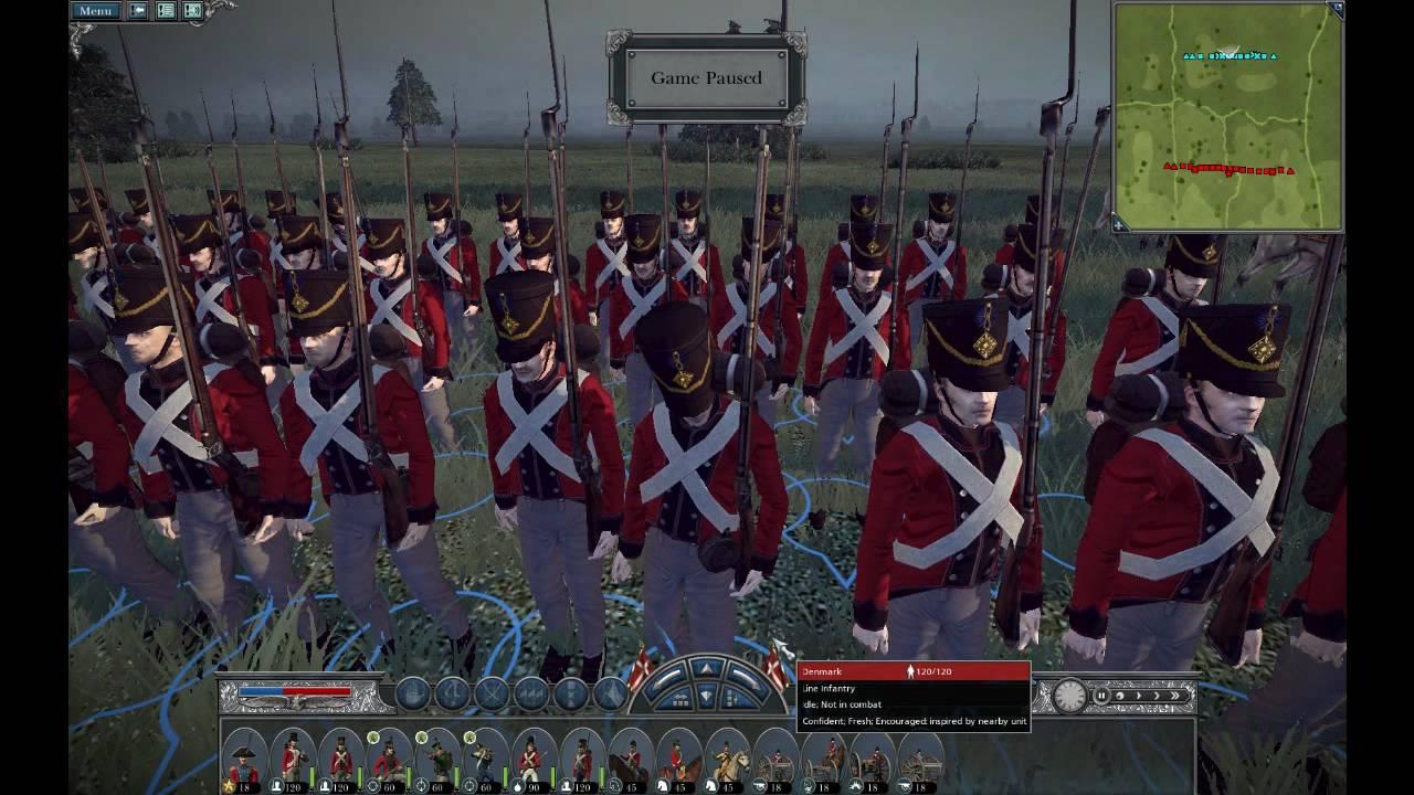 danish units in napoleon total war youtube