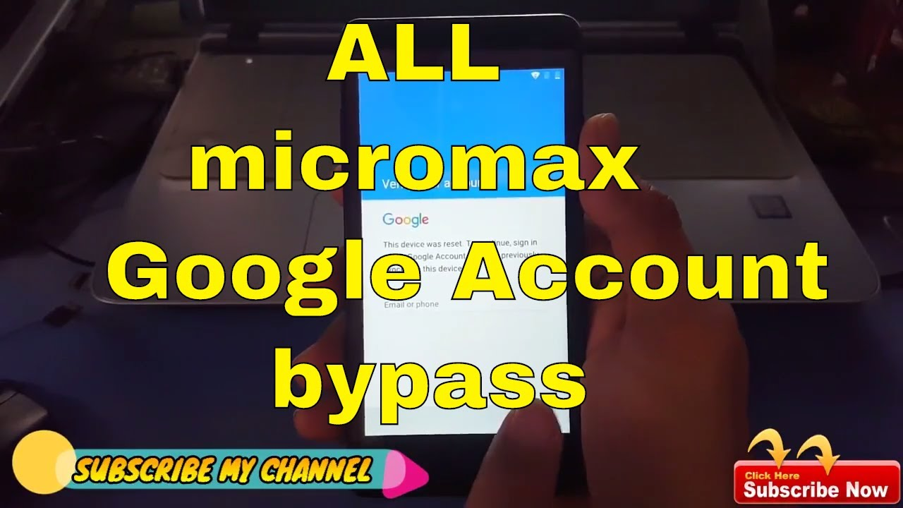 micromax frp bypass || google account bypass