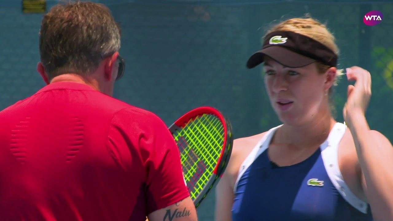 Anastasia Pavlyuchenkova Extended Practice | 2020 Brisbane International