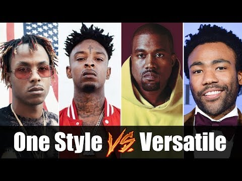 Rappers with One Style vs Versatile Rappers