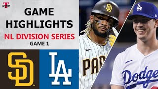 San Diego Padres vs. Los Angeles Dodgers Game 1 Highlights | NLDS (2020)