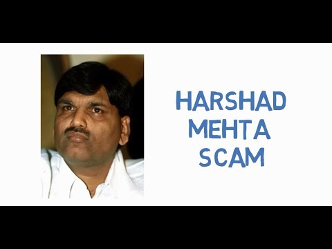 Harshad Mehta Scam | Case Study | Hindi
