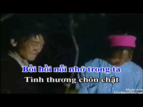 Karaoke Hát Chèo Song Ca _ Men Tình Dưới Chợ Khau Vai _ SL ; Lê Văn Dũng _ Điệu Du Xuân