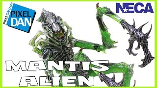 Aliens Mantis Alien NECA Toys Kenner Wave Figure Video Review