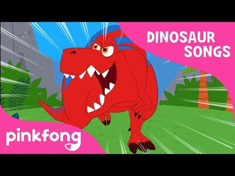 Tyrannosaurus-Rex | DInosaur Song | Pinkfong Songs for Children