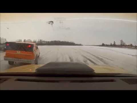 Ice Racing on Allouez Bay, Superior WI-10th Heat- January 17, 2015