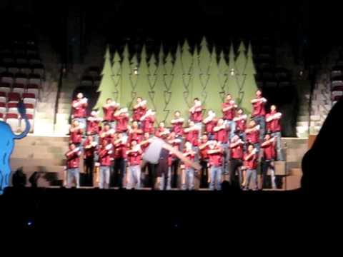 2010 ACU Sing Song  Trojans act, Paul Bunyan