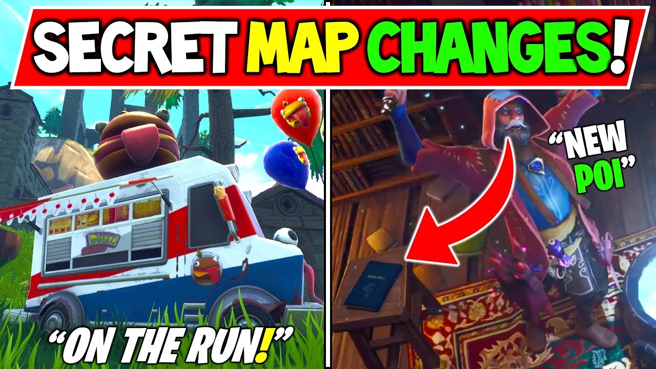 New Fortnite Secret Map Changes Incoming Wizard Location