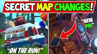 "LA CARTE SECRÈTE FORTNITE ' NEW' CHANGE ! ""L'EMPLACEMENT ASSISTANT ENTRANT?!"" Fortnite Saison 6 Storyline!"