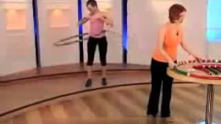 Массажный обруч для похудения Хулахуп Acu Hoop Pro