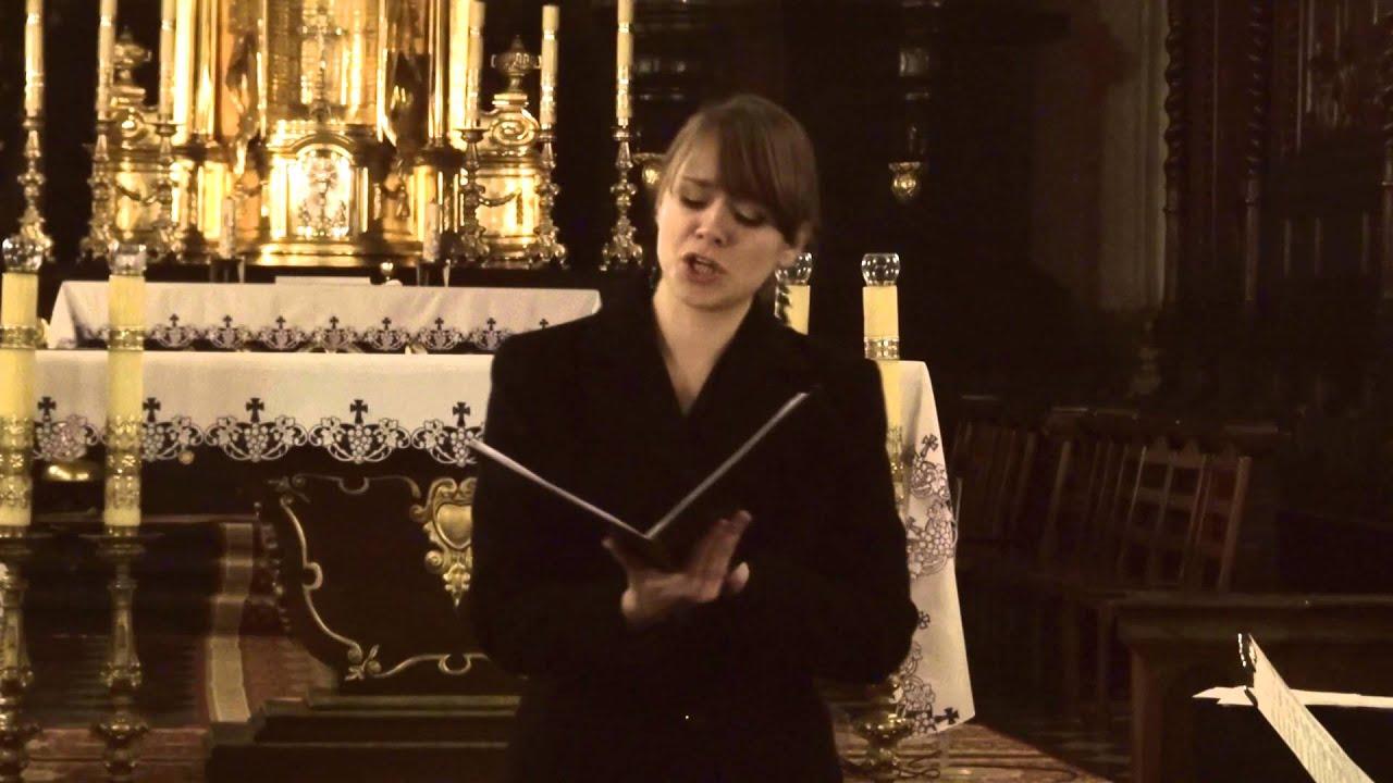 Bach Nun Komm Der Heiden Heiland