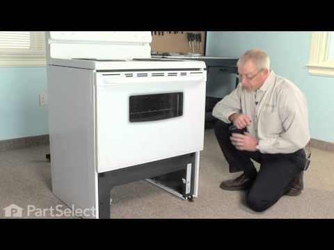 Range/Stove/Oven Repair- Replacing the Front Drawer Glide (Frigidaire Part# 3051162)