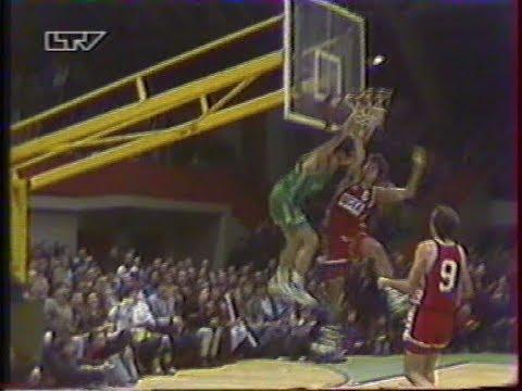 1991 Жальгирис (Каунас) - ЦСКА (Москва) 101-70 Баскетбол. Кубок Жальгириса, полный матч