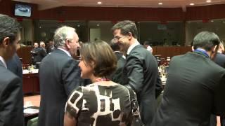 Traian Basescu la Consiliul European 24 octombrie 2013