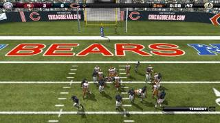 2013 Chicago Bears Simulation On Madden 08 Pc Software Cpu Vs Cpu 2013
