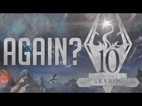 Bethesda Are Re-Releasing Skyrim AGAIN? | The Elder Scrolls V: Skyrim Anniversary Edition