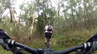 MTB riding at Christmas Hills