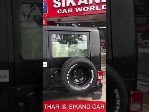 Thar Metal Hardtop And Interior Sikand Car Ludhiana Youtube