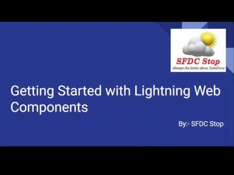 Getting Started with LWC | Setup local server for Lightning web components | First LWC Component