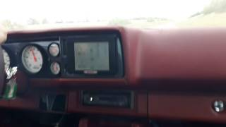 بالفيديو.. حريق داخل مقصورة شيفروليه كمارو