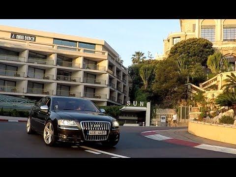 Roadtrip with Audi S8 V10 to Monte Carlo (Monaco 2017)