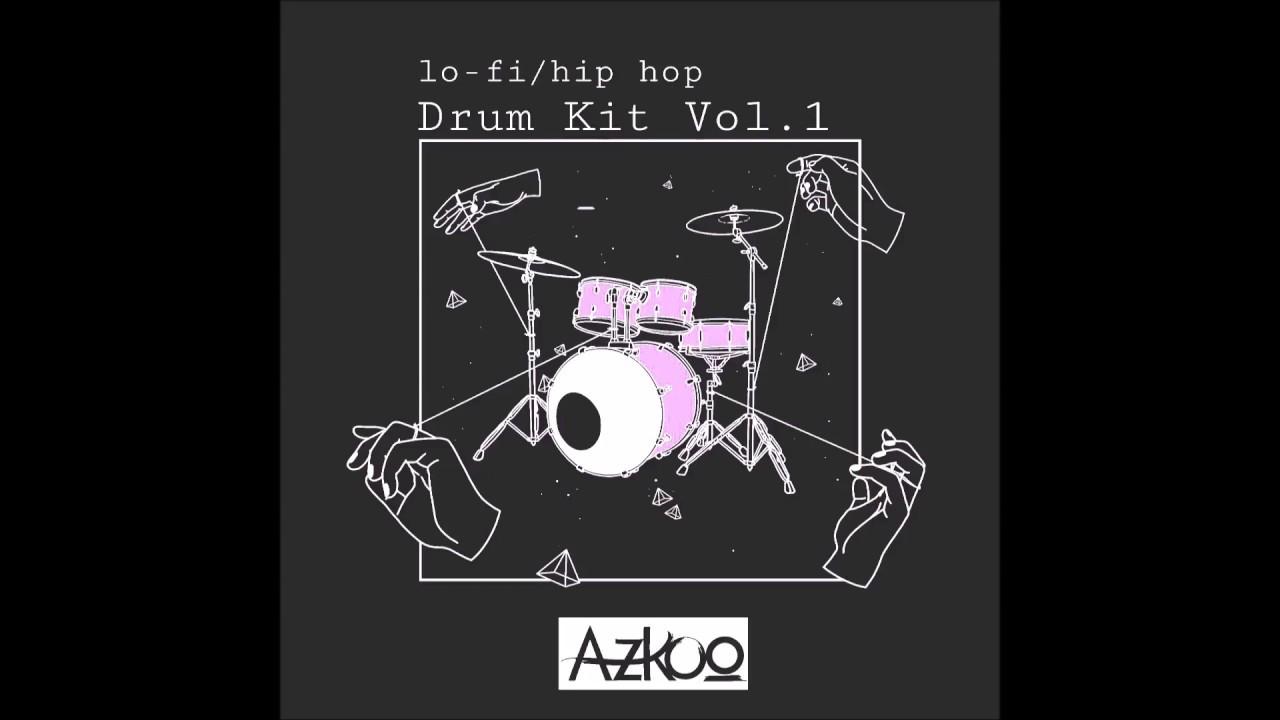 FREE LO-FI HIP HOP DRUM KIT [LINK IN DESCRIPTION!] [Azkoo Drum Kit Vol 1]