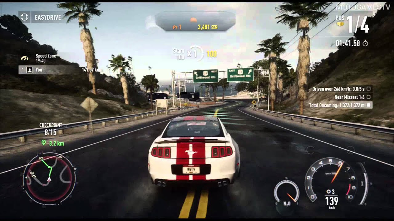 need for speed rivals xbox 360 ford mustang gt gameplay. Black Bedroom Furniture Sets. Home Design Ideas
