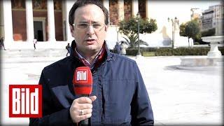 Umfrage in Athen - Was denken die Griechen über die Deutschen?