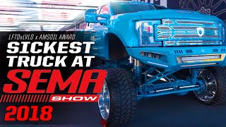 DUB & LFTDxLVLD Best Truck of SEMA 2018 Presented by Amsoil