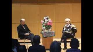 作曲家 池辺晋一郎&俳優 山本 亘「トーク」 ふたたび平和を語る パート1 「平和を詩と歌で語る」
