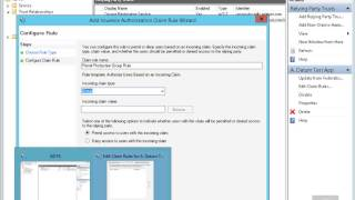 20412 Demo35 Configuring Claim Rules