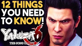 YAKUZA 6 The Song of Life 12 HUGE Things You Should Know! (PS4 Exclusive 2018)