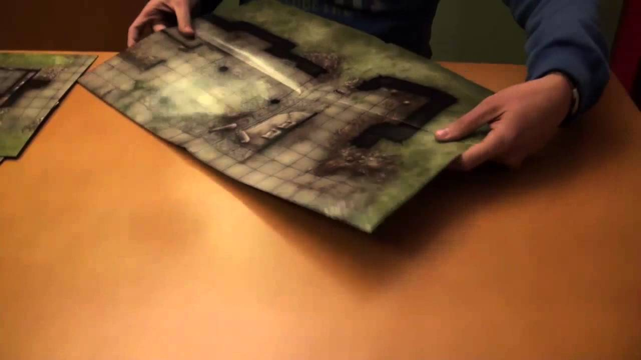 Unboxing Mapas Dungeons Amp Dragons D Amp D Shattered Keeps