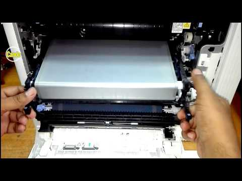 How to Replace ITB (Intermediate Transfer Belt) on HP CLJ  M553 Printer