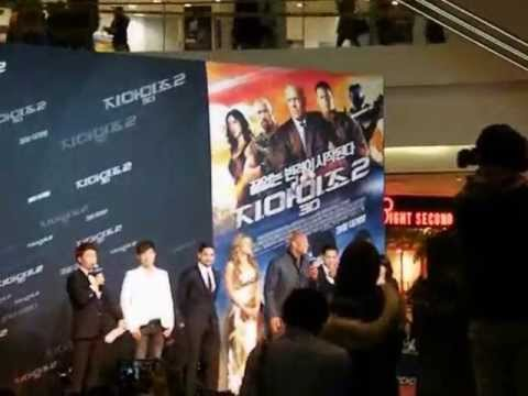 WWE The Rock (Dwayne Johnson)- G.I.Joe Premiere in Seoul, South Korea [더홍, THE HONG, 홍의성] (프로레슬링 더락)