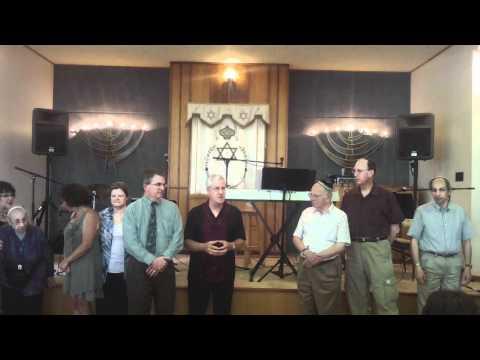 Cong. Beth El presentation to SUNY-Potsdam's Crane School of Music