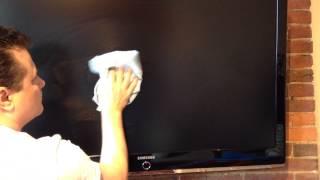 Milk on Samsung Smart TV Flat Screen Clean™ #TouchScreenCleaner #FlatScreenCleaner #ScreenCleaner