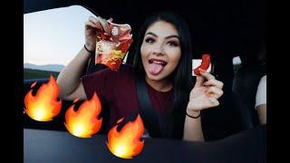 Flaming Hot Mac N' Cheeto Taste Test // CHEAT MEAL