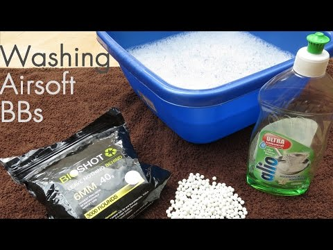 How To Wash Airsoft BBs