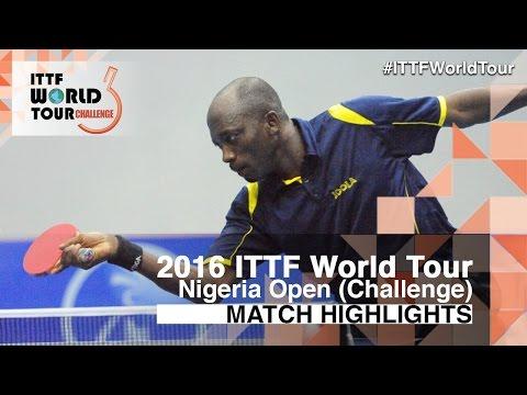 2016 Nigeria Open Highlights: Alexandru Cazacu vs Segun Toriola (R16)