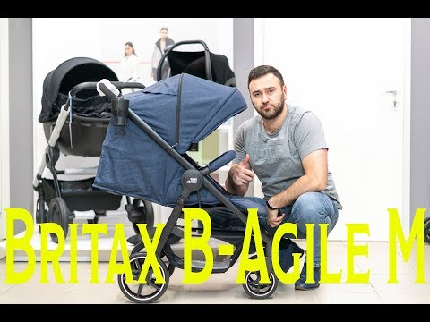 Детская коляска Britax Roemer B-Agile M [213052]. Видео №1